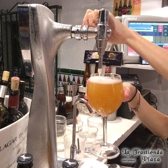 Cerveza Mahou de Grifo